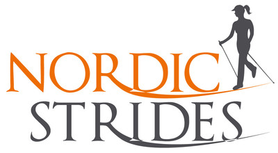 Nordic Strides logo Nordic Walking York